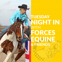 Tuesday Night In with Sally Heron, UK Barrel Racer