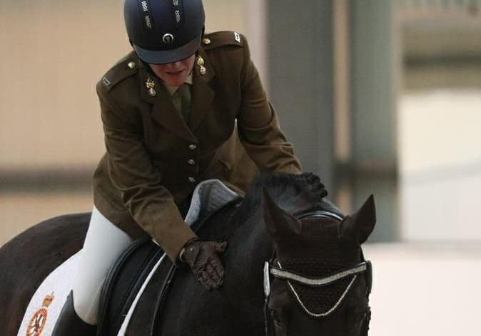 Flintshire woman wins equestrian championship just 27 weeks after being in a wheelchair