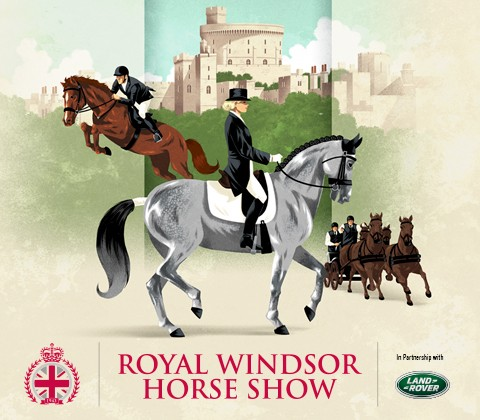 Royal Windsor Horse Show discount for all our Forces Equine Members