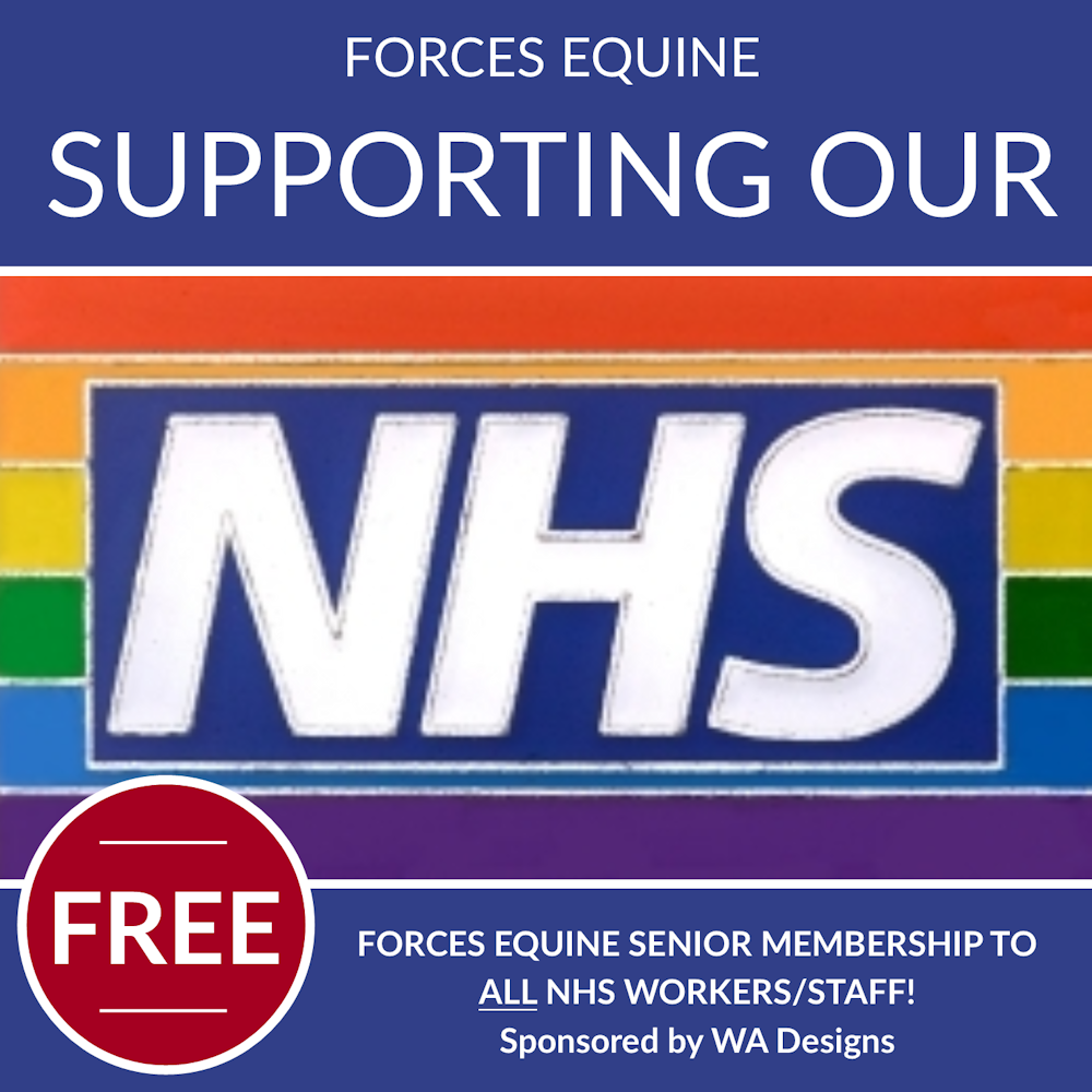 Forces Equine supporting NHS Staff Equestrians with something to look forward to!
