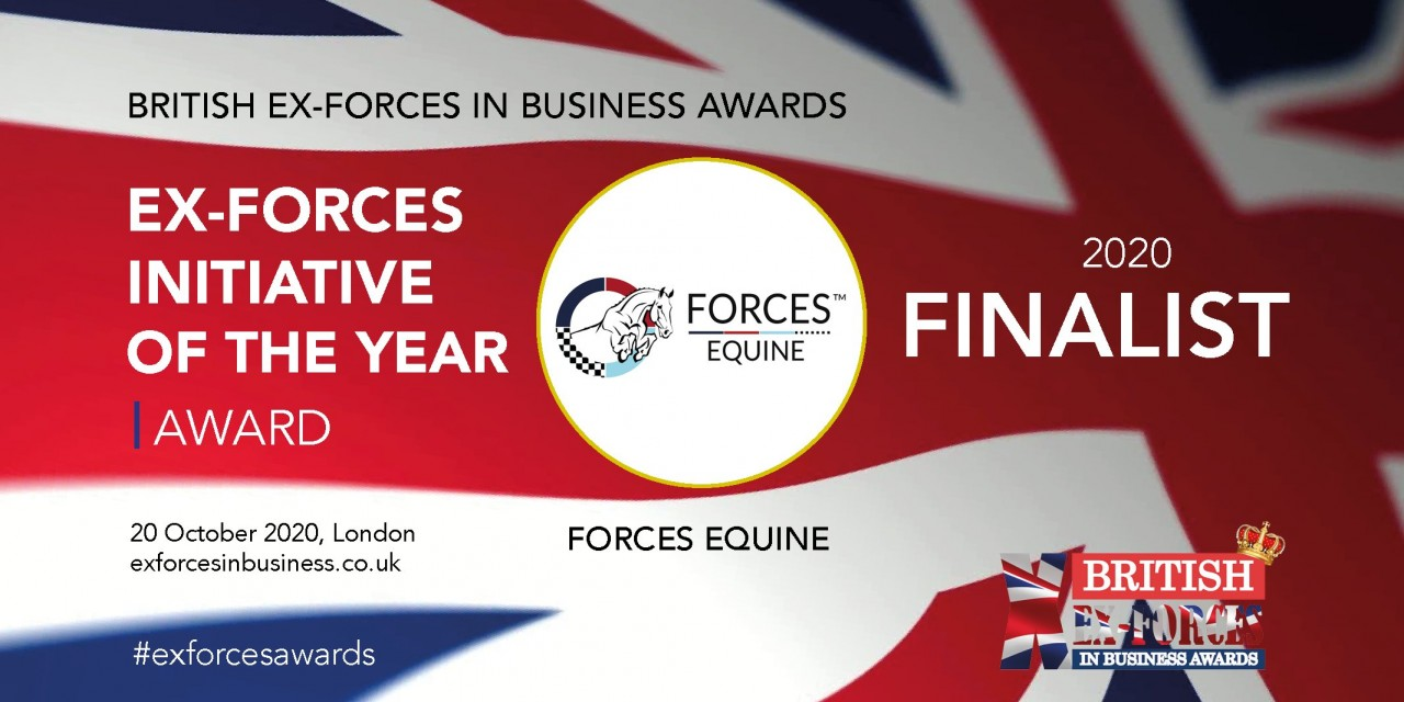 Forces Equine nominated for an Ex Forces in Business Awards