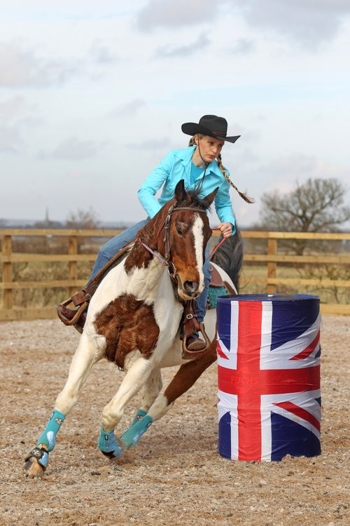 Not beginners to riding, but beginners to the sport of Barrel Racing!